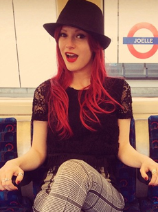 Joelle joelle singer Tube Station image picture photo Skoobie Dootle Official Website